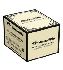 Накладки на цилиндр ARMADILLO CLASSIC ЕТ/CL ABL-18 (тёмная медь)