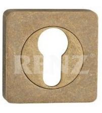 Накладка на цилиндр RENZ ЕТ 02 OB (состаренная бронза)