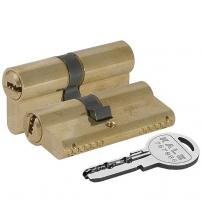 Ц/М KALE KILIT 164 SN/62 mm (26+10+26) латунь 5 ключей