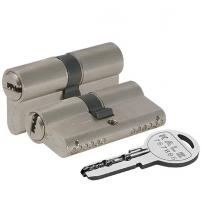 Ц/М KALE KILIT 164 SN/62 mm (26+10+26) никель 5 ключей