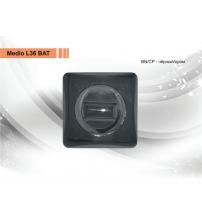 Фиксатор MEDIO L-36 ВАТ ВN/СР (чёрный/хром)