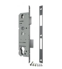 Корпус узкопрофильного замка с защёлкой FUARO 4916-40/92 СР (хром)
