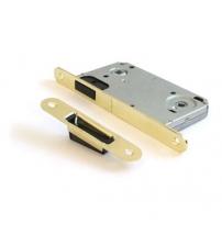 Защёлка врезная магнитная Apecs 5300-M-WC-G (золото)