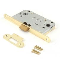 Защёлка врезная Apecs 5300-P-WC-GM (матовое золото)
