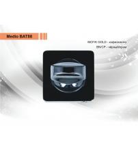 Фиксатор MEDIO ВАТ-88 ВN/СР (чёрный/хром)