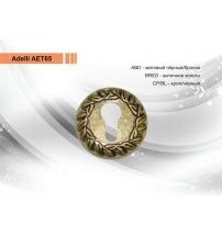 Накладка на цилиндр ADELLI Винтаж АЕТ65-BRED (античное золото)