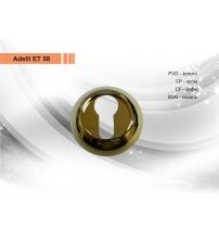 Накладка на цилиндр ADELLI ЕТ 58/001 ВSN (матовый никель)