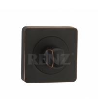 Завёртка сантехническая RENZ BK 02 ABB (чёрная бронза с патиной)