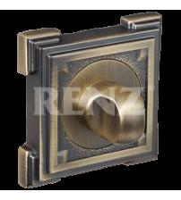 Завёртка сантехническая RENZ BK 19 MAB (матовая античная бронза)