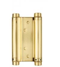 Петля пружинная ARMADILLO DAS SS 201-4 SG (100*70*1.5, матовое золото)