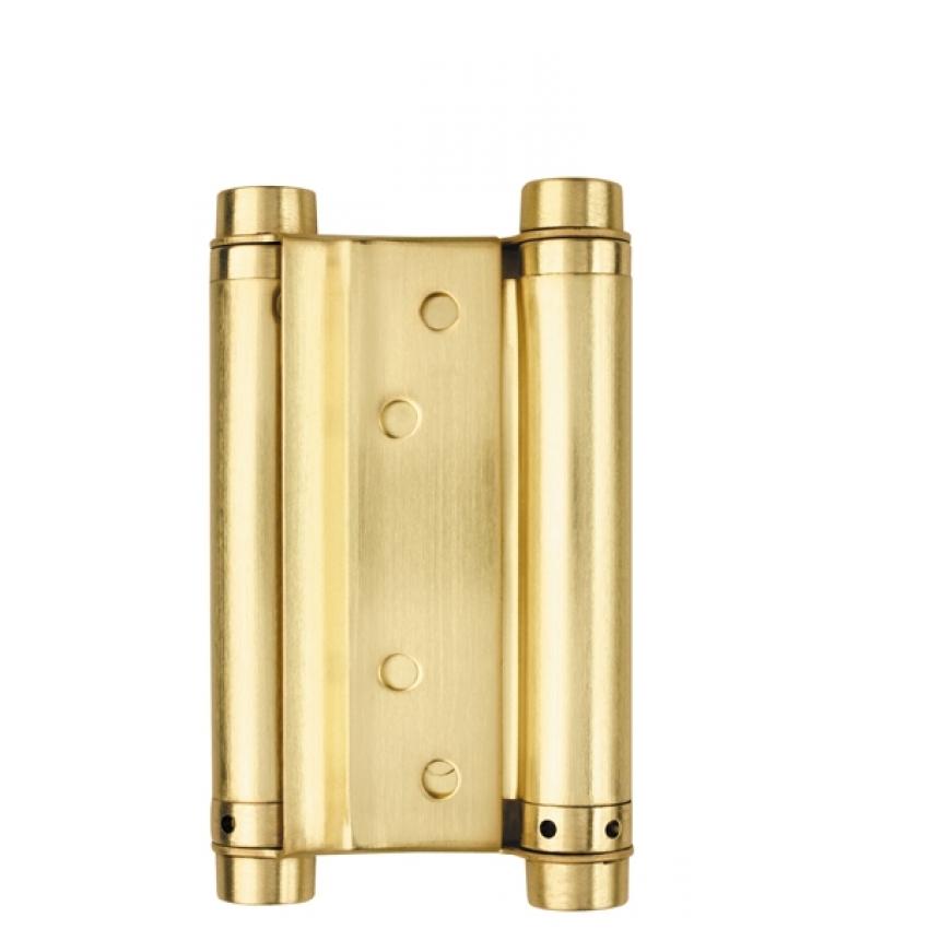 Петля пружинная ARMADILLO DAS SS 201-5 SG (125*86*1.5, матовое золото)