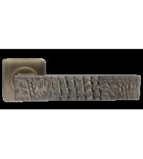 "Ручки RENZ ""CROCODILE"" DH 654-02 MAB (матовая античная бронза)"