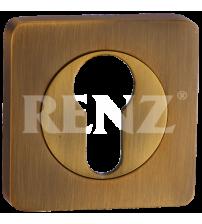 Накладка на цилиндр RENZ ET 02 СF (кофе)