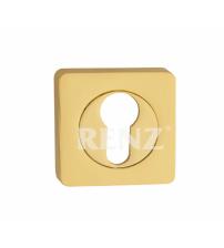 Накладка на цилиндр RENZ ЕТ 02 GP (золото)
