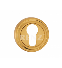 Накладка на цилиндр RENZ ЕТ 16 SG (матовое золото)