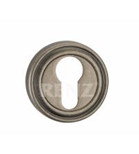 Накладка на цилиндр RENZ ЕТ 16 SL (античное серебро)