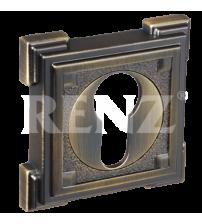 Накладки на цилиндр RENZ ET 19 AB (античная бронза)