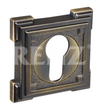Накладки на цилиндр RENZ ET 19 MAB (матовая античная бронза)