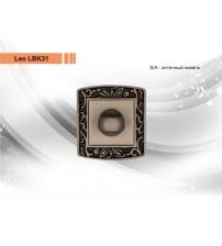 Фиксатор Leo LBK31 S/A (античный никель)
