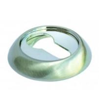 Накладка на цилиндр MORELLI МН-KH SC/CP (матовый хром/полированный хром)