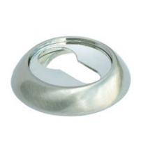 Накладка на цилиндр MORELLI МН-KH SN/CP (белый никель/полированный хром)