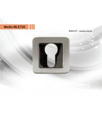 Накладка на цилиндр MEDIO LMA ЕТ 20 ВSN/CP (никель/хром)