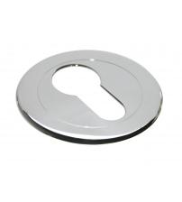 Накладка на цилиндр MORELLI LUXURY LUX-KH CSA (матовый хром)