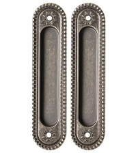 Ручки для раздвижных дверей ARMADILLO SH010/СL АS-9 (античное серебро)