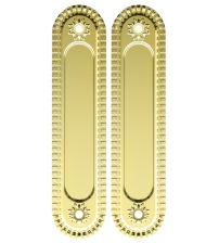 Ручки для раздвижных дверей ARMADILLO SH010/СL Gold-24 (золото 24 карата)