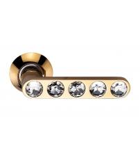 Ручки ARCHIE SILLUR 200 P.GOLD/CRYSTAL (золото/кристаллы)