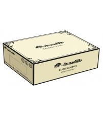 Ручки ARMADILLO CLASSIC Silvia CL-1 Silver-925/LWP-109 (серебро 925/бежевая керамика)
